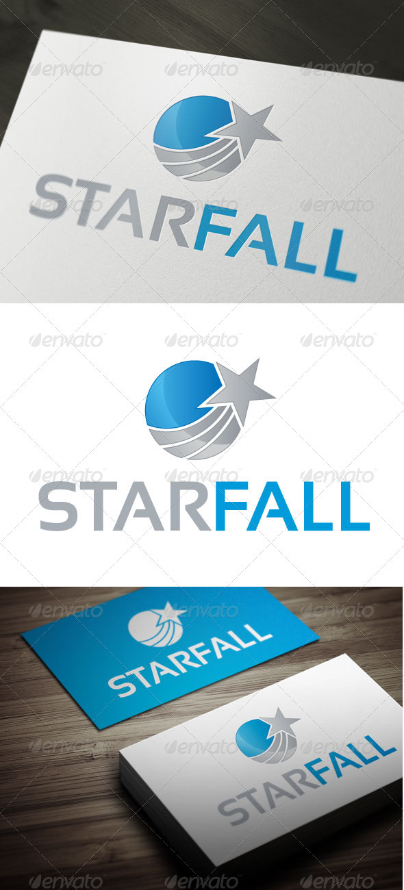 Star Fall - Objects Logo Templates