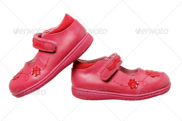 Girls Shoes - Stock Photo - Images