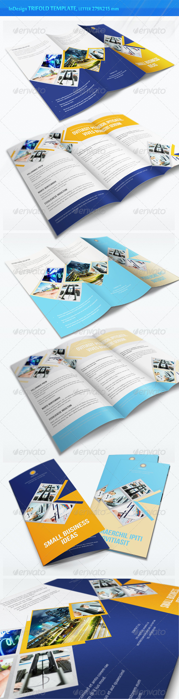 Business Trifold Brochure - v5 - Corporate Brochures