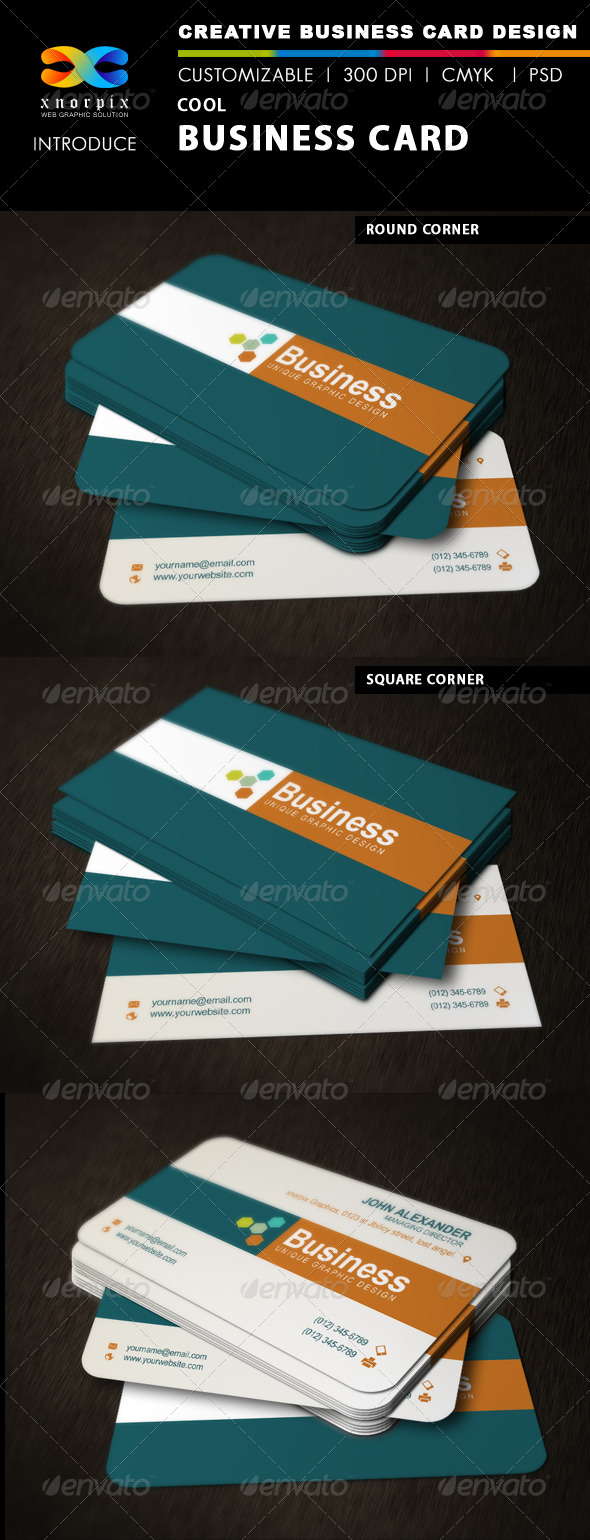 Cool business card by axnorpix graphicriver cool business card corporate business cards magicingreecefo Images
