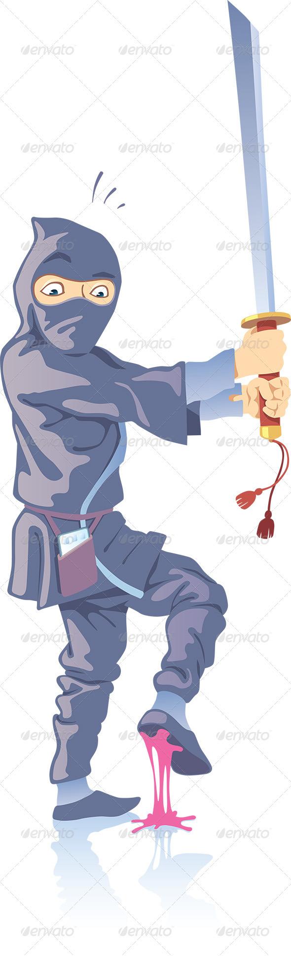 Ninja Confused - People Characters