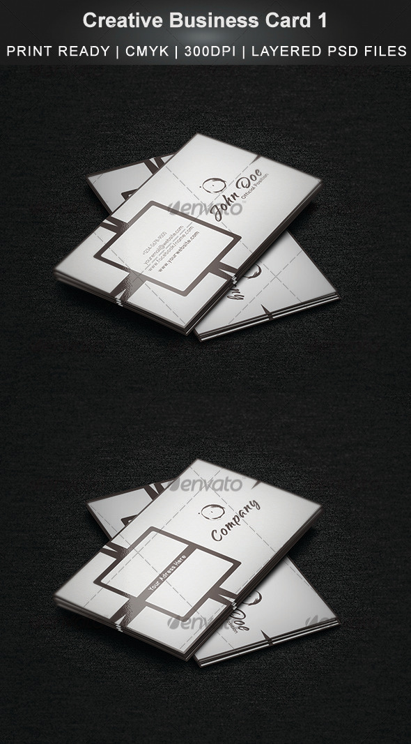 Creative Business Card 1 - Creative Business Cards
