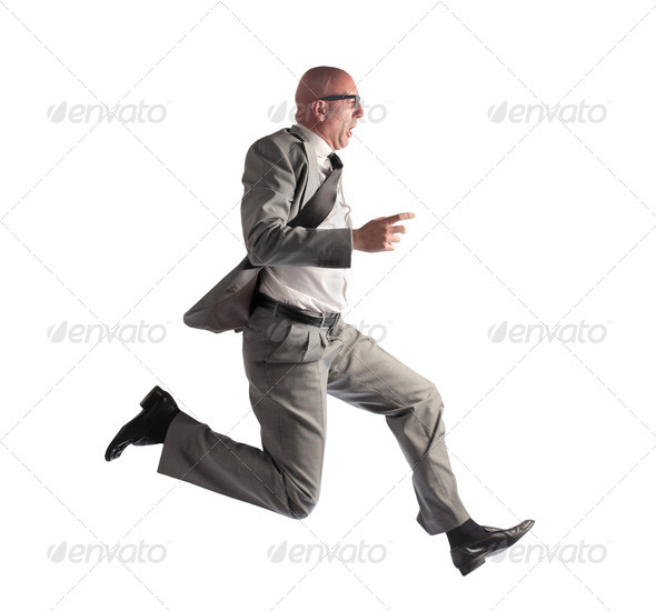 Man Running - Stock Photo - Images