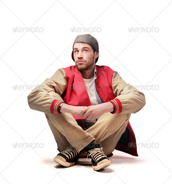 Thinking Guy - Stock Photo - Images