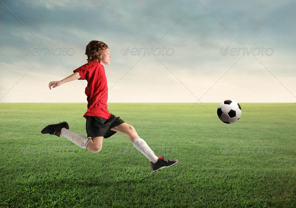 Young Soccer Player - Stock Photo - Images