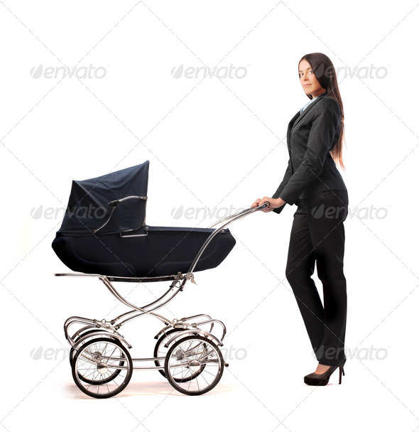 Mom in Career - Stock Photo - Images