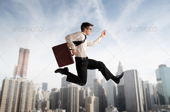 In a Hurry - Stock Photo - Images