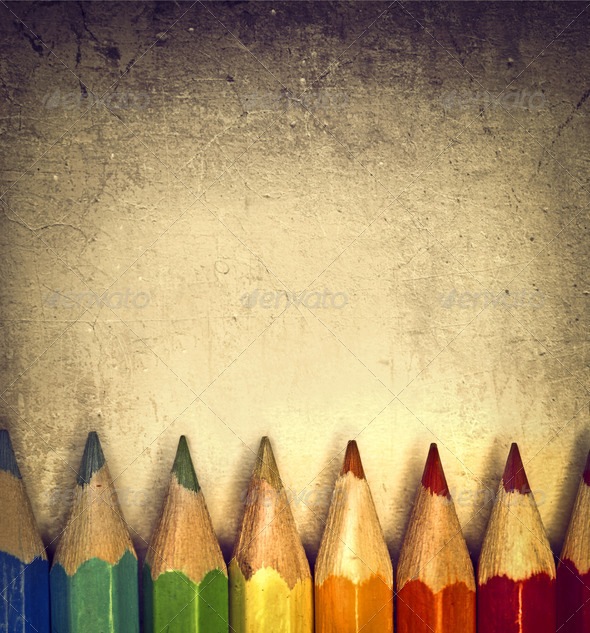 Colored Pencils - Stock Photo - Images