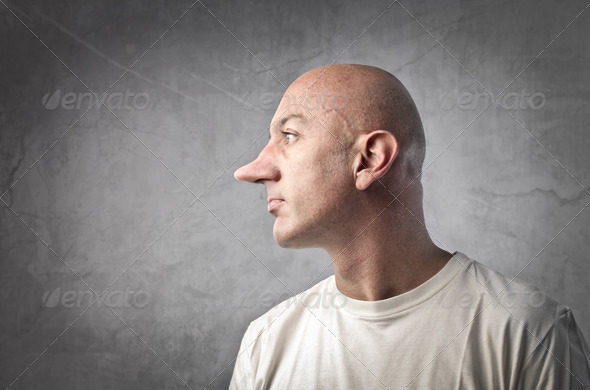 Long Nose - Stock Photo - Images