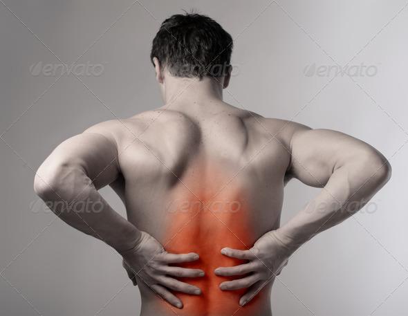 Backache - Stock Photo - Images