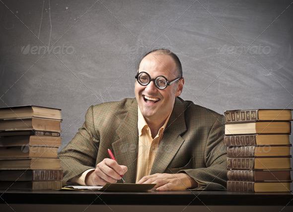 Smiling Teacher - Stock Photo - Images