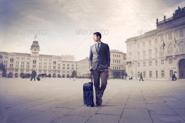 Mulatto Businessman - Stock Photo - Images