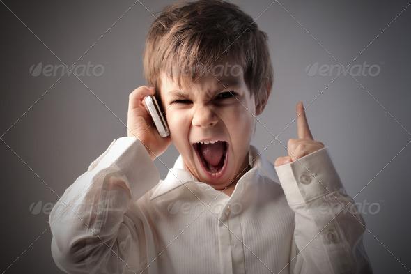 Child Scream - Stock Photo - Images