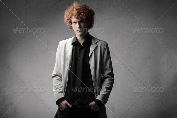 Serious Boy - Stock Photo - Images