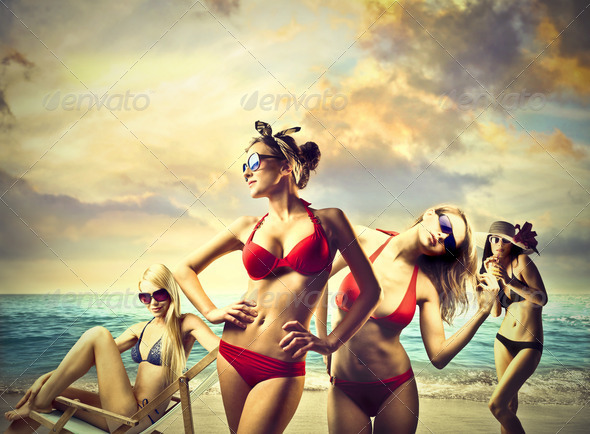Bikini - Stock Photo - Images