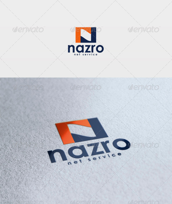 Nazro Logo - Letters Logo Templates