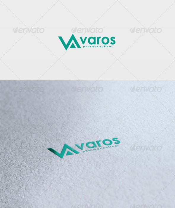 Varos Logo - Letters Logo Templates