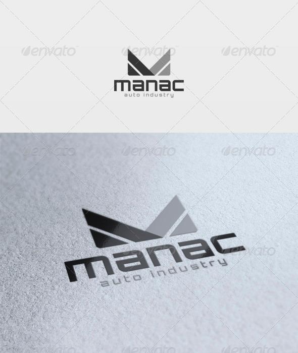 Manac Logo - Letters Logo Templates