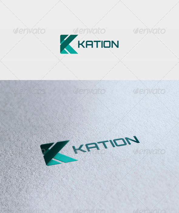 Kation Logo - Letters Logo Templates