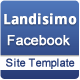 Landisimo Facebook Site Template Nulled