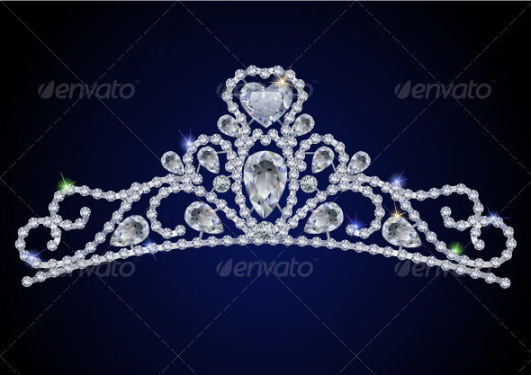 Diamond tiara - Man-made Objects Objects