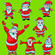 Santa Claus Christmas Set - GraphicRiver Item for Sale