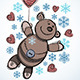 Teddy Bear Christmas Card  - GraphicRiver Item for Sale