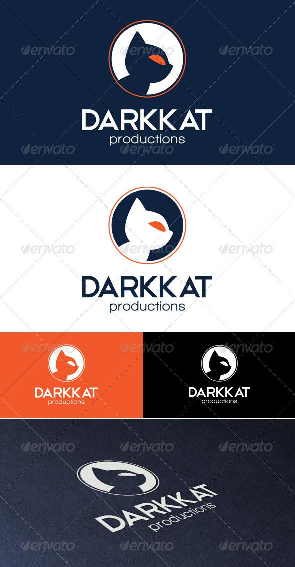 Darkkat Productions Logo - Animals Logo Templates