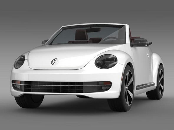 VW Beetle Cabrio - 3DOcean Item for Sale