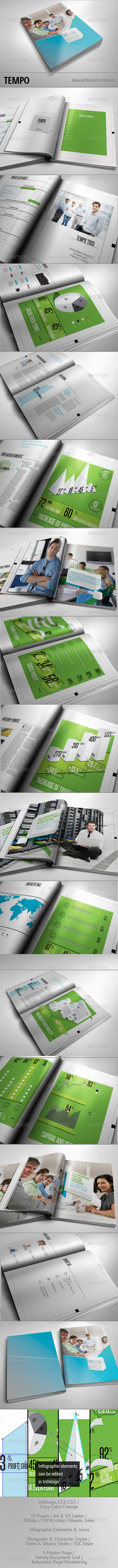 TEMPO - Annual Busines Report - Corporate Brochures