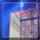 Concert Screens And Blue Smoke - VideoHive Item for Sale