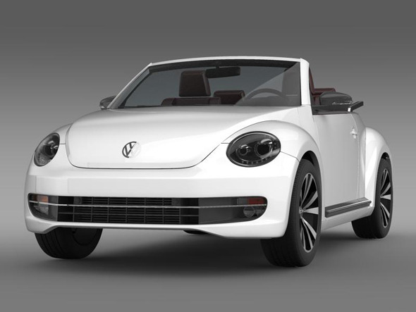 VW Beetle Cabrio sport  - 3DOcean Item for Sale