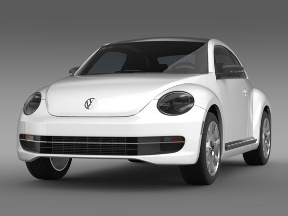 VW Beetle Design - 3DOcean Item for Sale