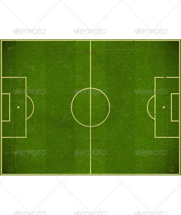 Soccer field - Backgrounds Decorative