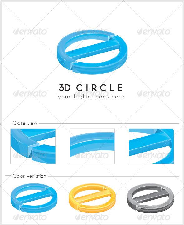 3d Circle Logo - Vector Abstract
