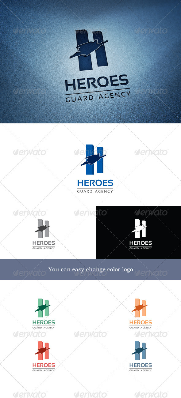 Heroes - Letters Logo Templates