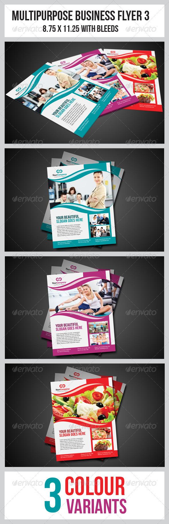 Multipurpose Business Flyer 3 - Commerce Flyers