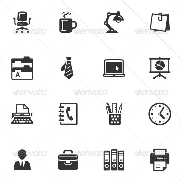 Office Icons - Web Icons