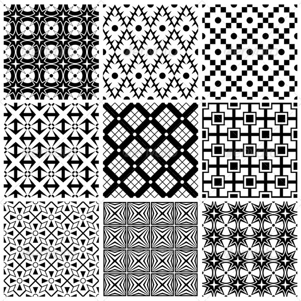 Simple Black And White Patterns - Patterns Decorative