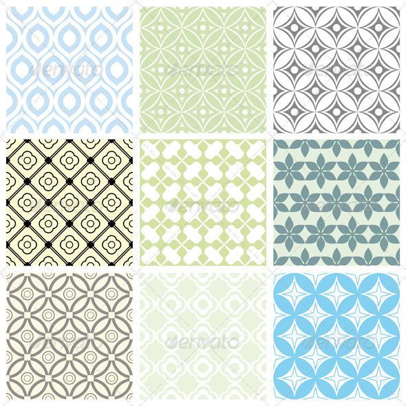 Geometric Vector Patterns - Patterns Decorative