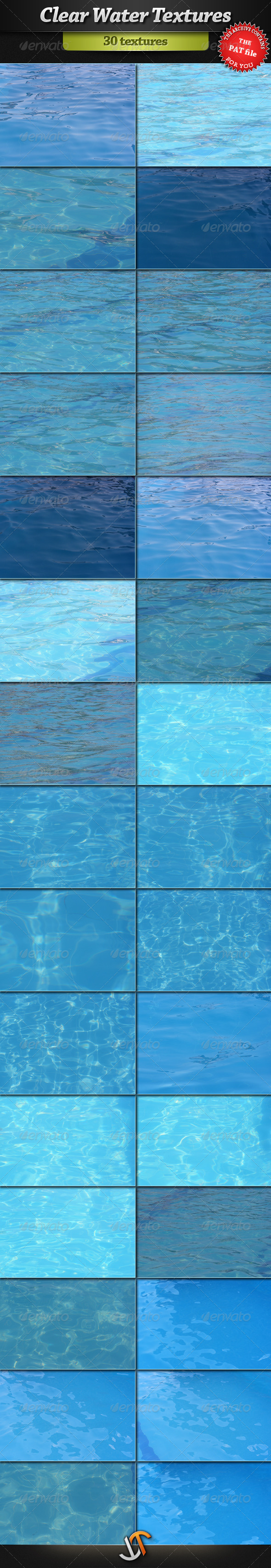 Clear Water Textures - Liquid Textures