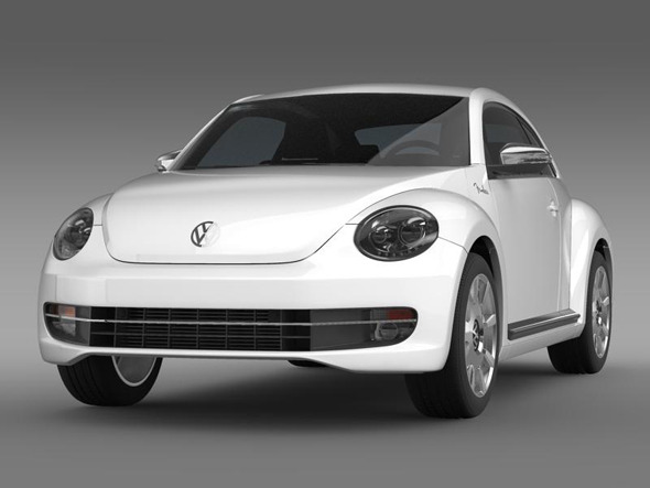 VW Beetle Fender Edition 2012   - 3DOcean Item for Sale