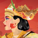 Traditional Balinese Dancer - GraphicRiver Item for Sale