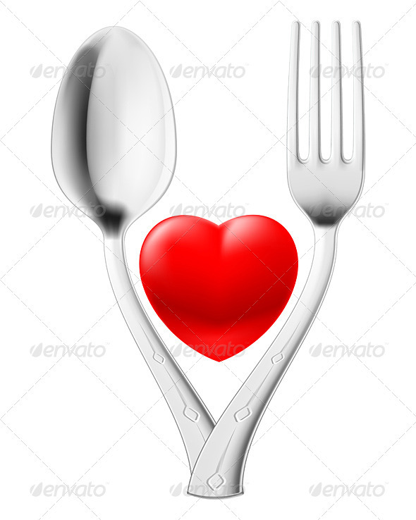 Spoon and fork - Man-made Objects Objects