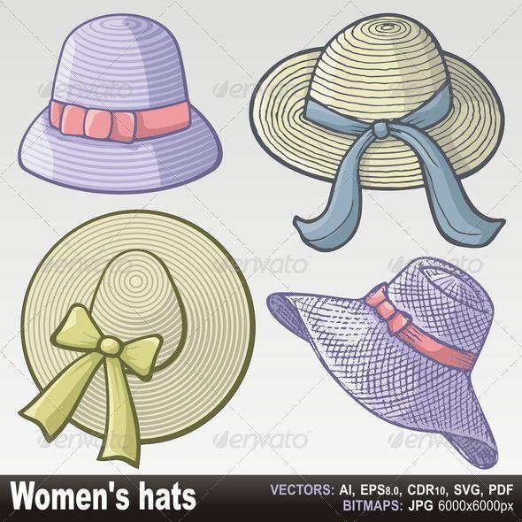 Women hats - Man-made Objects Objects