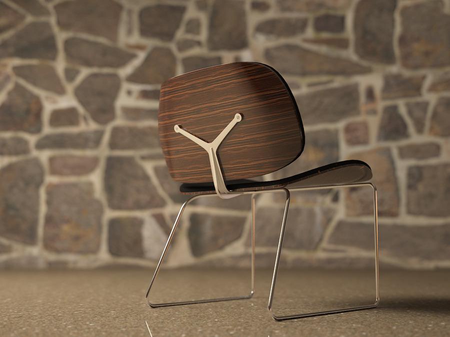 The Parri Blob Chair Model