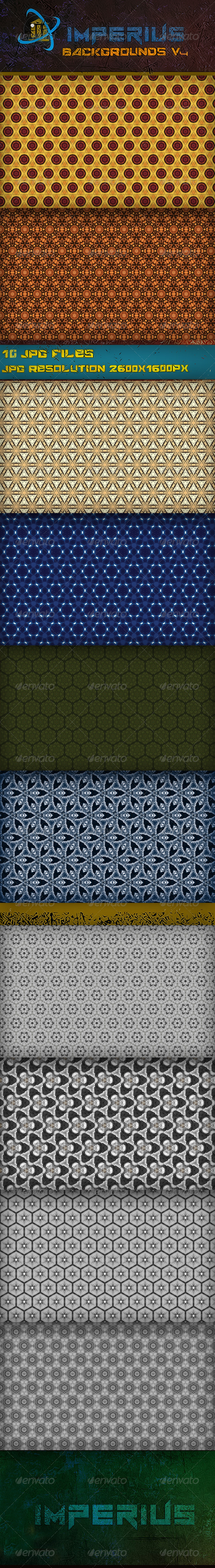 Backgrounds V4 - Patterns Backgrounds