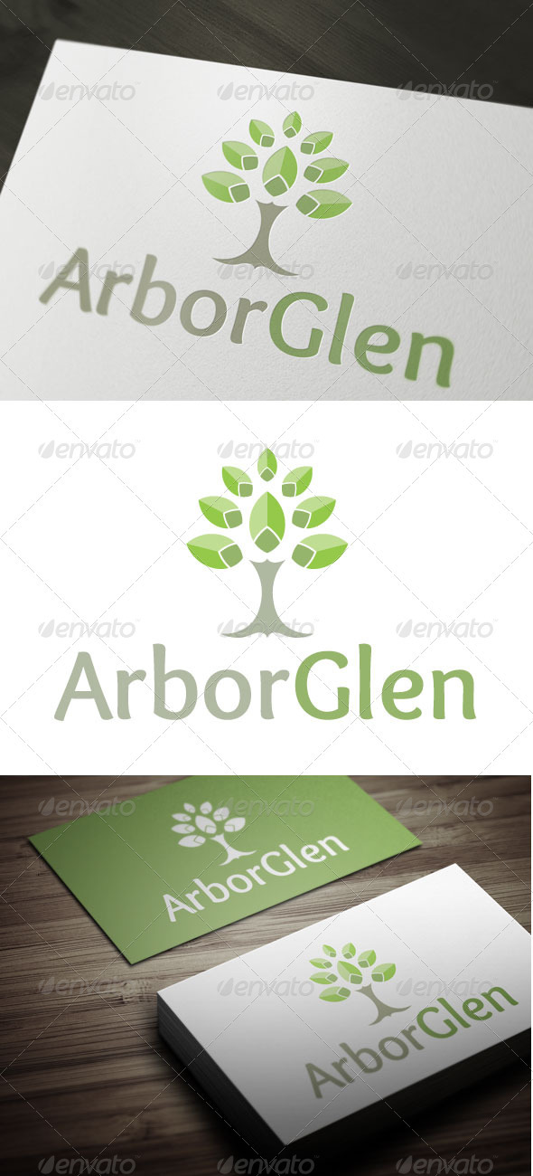 Arbor Glen - Nature Logo Templates
