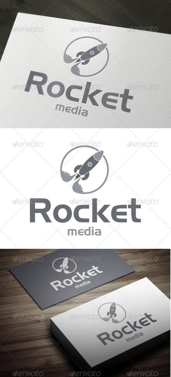 Rocket Media - Objects Logo Templates