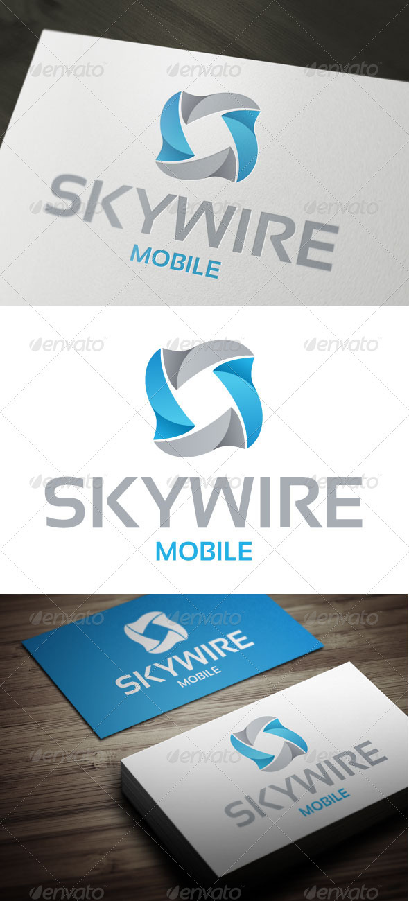 SkyWire - Abstract Logo Templates